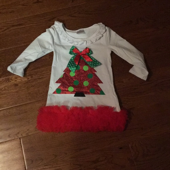 baby girl 6 12 month christmas dress nwot - 12 Month Christmas Dress